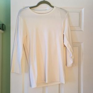 Cream colored shirt
